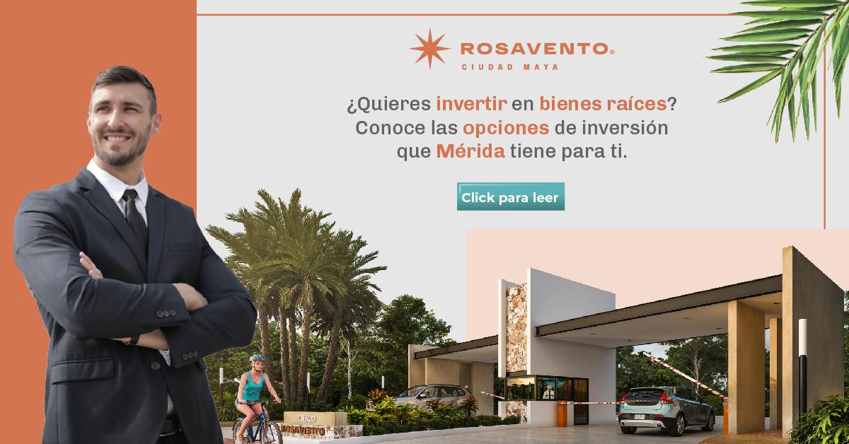 Inversiones inmobiliarias en Mérida